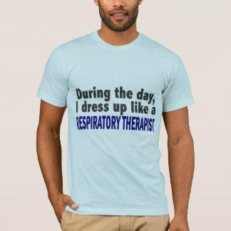 T-shirt Au cours de la journée j'habille le thérapeute