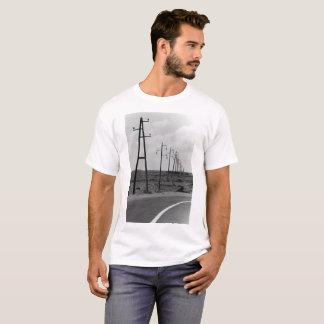 T-shirt au delà de la frontière