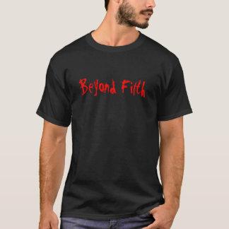 T-shirt Au delà des ordures