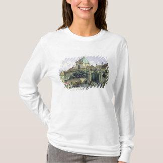 T-shirt Au-dessous du palais de belvédère à Vienne