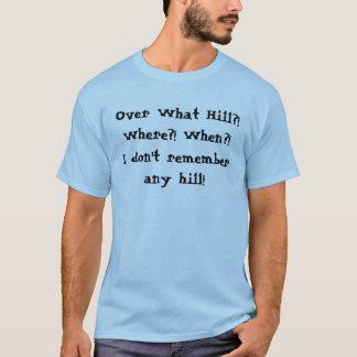 """T-shirt """"au-dessus de colline"""""""