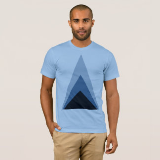 T-shirt Au minimum Ing fades Triangle