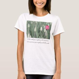 T-shirt Au monde vous pourriez juste être une personne