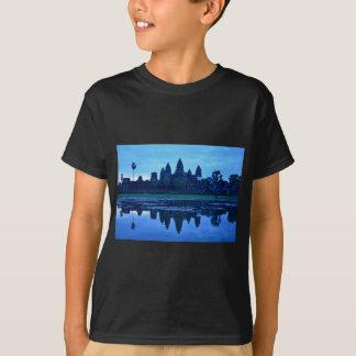 T-shirt Aube chez Angkor Vat
