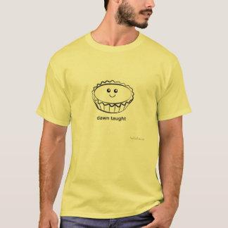 T-shirt Aube enseignée (tarte douce d'oeuf-crème anglaise)