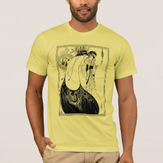 T-shirt :  Aubrey Beardsley - la jupe de paon