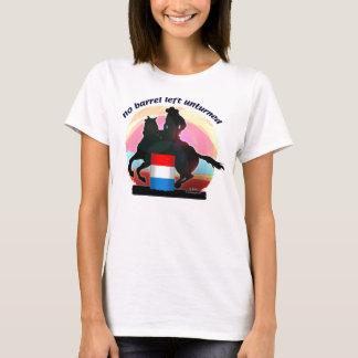 T-shirt Aucun baril laissé Unturned