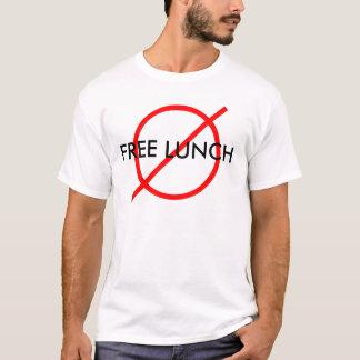 "T-shirt ""Aucun déjeuner libre """