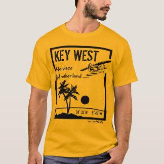 T-shirt Aucun endroit… Key West