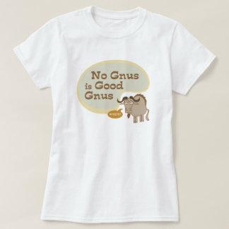 T-shirt Aucun gnou n'est citation drôle de culture pop de