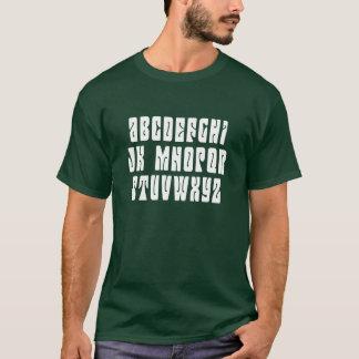 """T-shirt Aucun L message """"caché"""" de Mojo de vacances"""