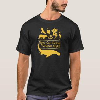 T-shirt Aucun ne peut défaire le style d'ornithorynque !