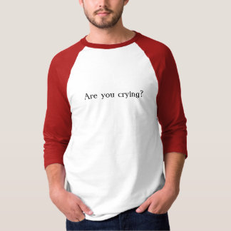 T-shirt Aucun pleurer dans le base-ball