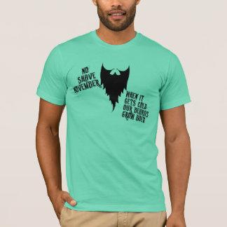T-shirt Aucun rasage novembre