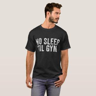 T-shirt Aucun sommeil jusqu'à la chemise des hommes de