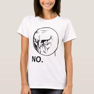 T-shirt Aucun visage fâché Rageface Meme de rage comique