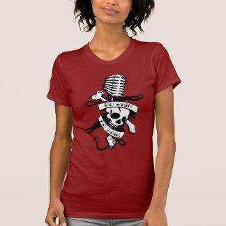 T-shirt Aucune douleur aucune pièce en t de dames de gain