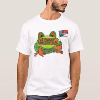 T-shirt Aucune grenouille de Fracking la Caroline du Nord