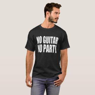 T-shirt Aucune guitare aucune partie