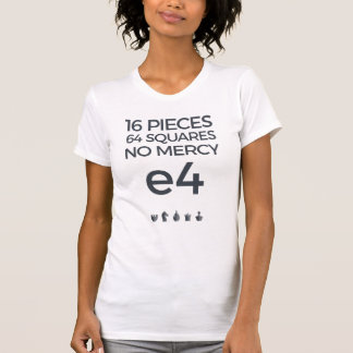 T-shirt Aucune pitié : chemise e4
