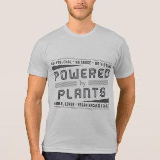 T-shirt Aucune violence actionnée par des plantes