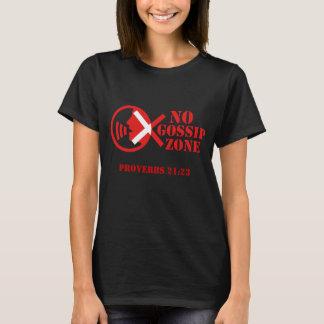 T-shirt Aucune zone de bavardage