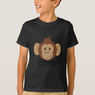 T-shirt Aucunes affaires de singe