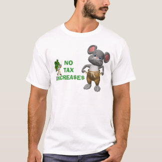 T-shirt Aucunes augmentations d'impôts