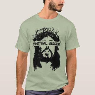 T-shirt Aucuns athées dans des shimmy de vitesse
