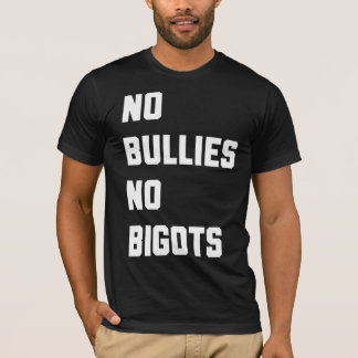 T-shirt Aucuns despotes aucuns bigots