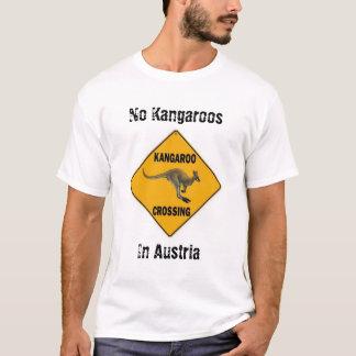 T-shirt Aucuns kangourous en Autriche