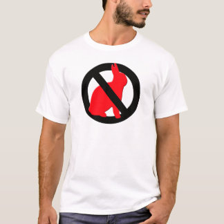 T-shirt Aucuns lapins permis