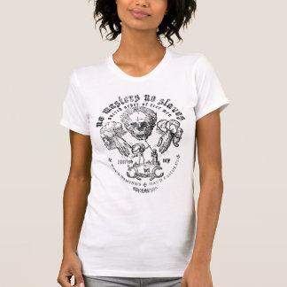 T-shirt Aucuns maîtres aucune chemise de graphique