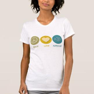 T-shirt Audiologie d'amour de paix