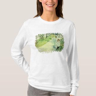 T-shirt Auditeurs d'un concert-promenade dans le jardin,