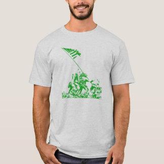 T-shirt Augmenter de drapeau d'Iwo Jima de 2ÈME GUERRE
