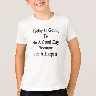 T-shirt Aujourd'hui va être un beau jour puisque je suis