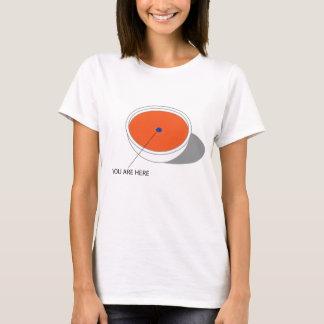 T-shirt Austin - myrtille dans la soupe à tomate