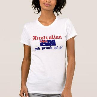 T-shirt Australien fier