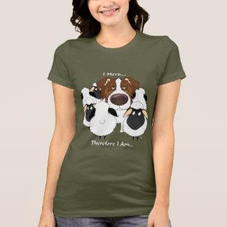T-shirt Australien - troupeau d'I par conséquent je suis