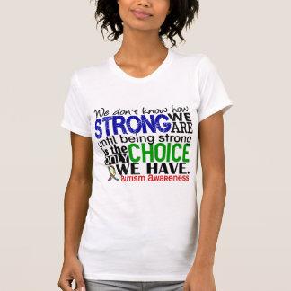 T-shirt Autisme comme nous forts sommes