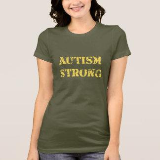 T-shirt Autisme fort