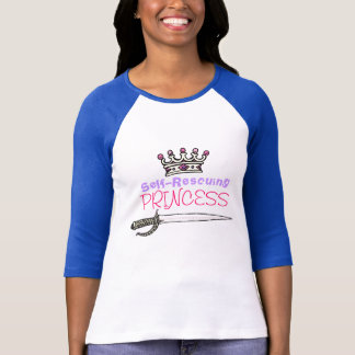 T-shirt Auto-Secourir la princesse