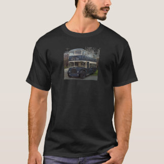 T-shirt Autobus bleu