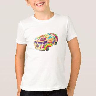 T-shirt Autobus psychédélique d'amour