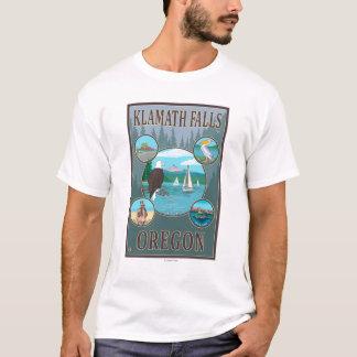 T-shirt Automnes de Klamath, affiche de voyage