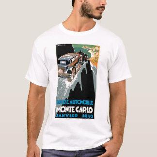 T-shirt Automobile De Monte Carlo 1930 de Rallye