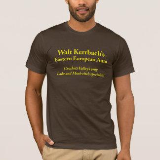 T-shirt Automobile européenne de Pâques de Walt Kerrbach