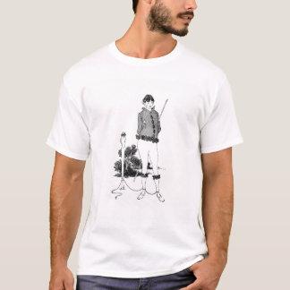 T-shirt Autoportrait attaché à un Herm (gravure) (phot de