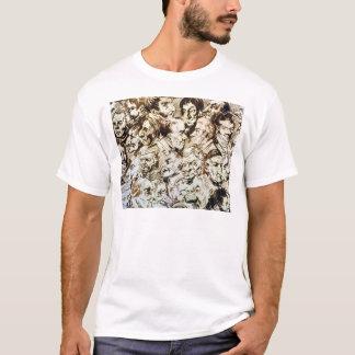 T-shirt Autoportrait avec des portraits de Giacomo